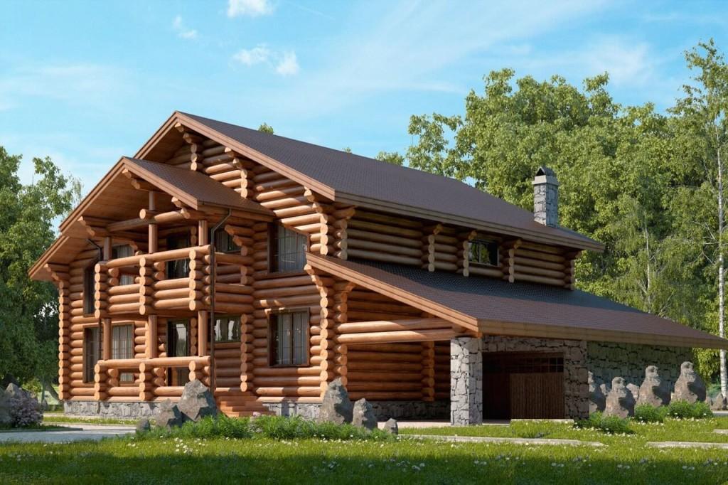 Проект дома из дерева заказать в минске