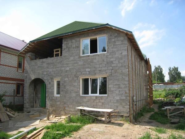 Проектирование дома из шлакоблока в Минске