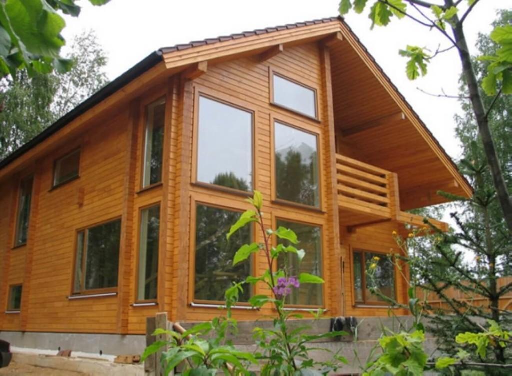 Заказ на проект дома из клееного бруса, цена в Минске