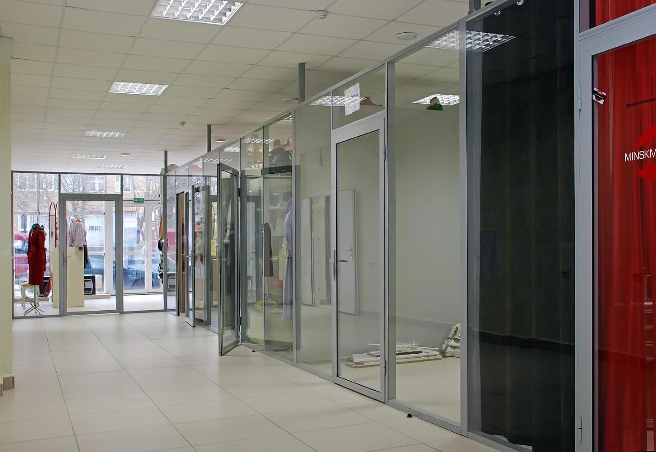 Внутренняя отделка торгового павильона, цена работ в Минске