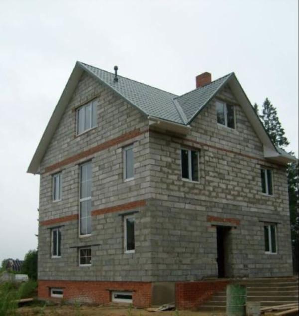 Цена проектирования дома из шлакобетона в Минске