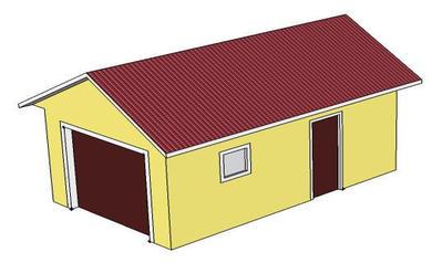 Каркасный гараж под ключ спб
