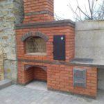 Красивый камин из кирпича фото цена в Минске