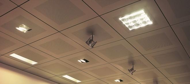 Цена подвесного потолка в офисе