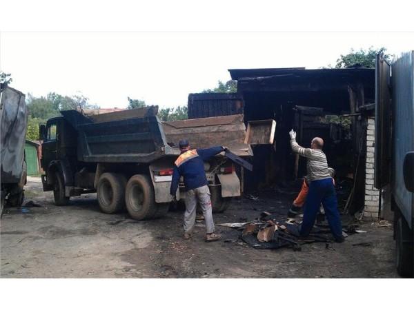 Вывоз строительного мусора в Минске