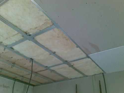 Стоимость монтажа подвесного потолка из гипсокартона в Минске