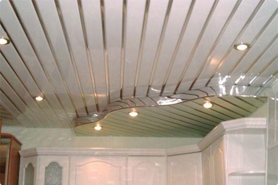 Стоимость монтажа зеркального подвесного потолка в Минске