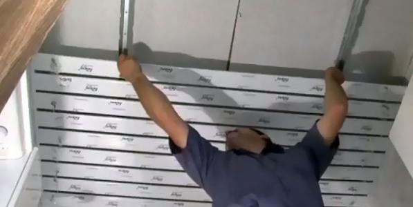 Стоимость демонтажа реечного потолка в Минске