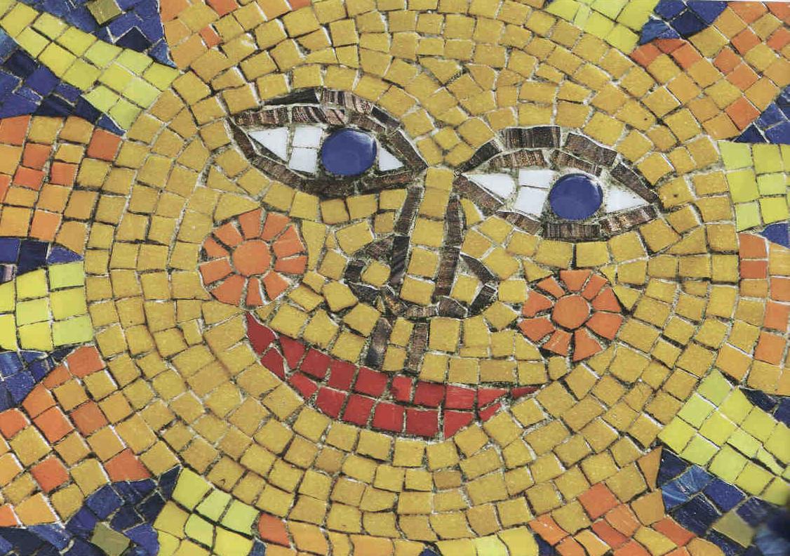 Стоимость укладки штучной мозаики с рисунком в Минске