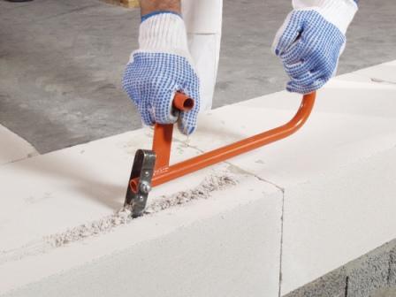 Стоимость кладки гипсолитовых блоков с закладкой арматуры