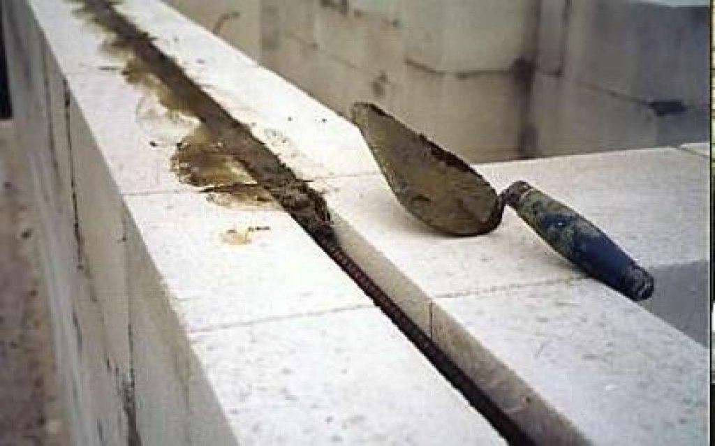 Стоимость кладки пеноблоков с закладкой арматуры