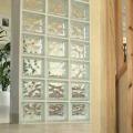 Стоимость возведения перегородок из стеклоблоков, цены на перегородки