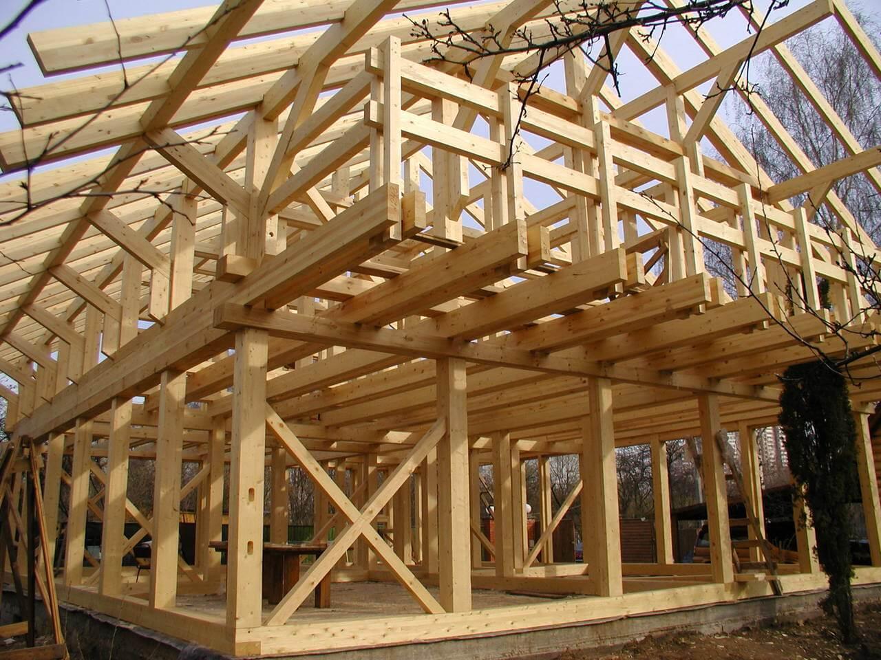 Каркасные дома цена строительных работ