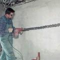 Штробление поверхностей для прокладки труб цена