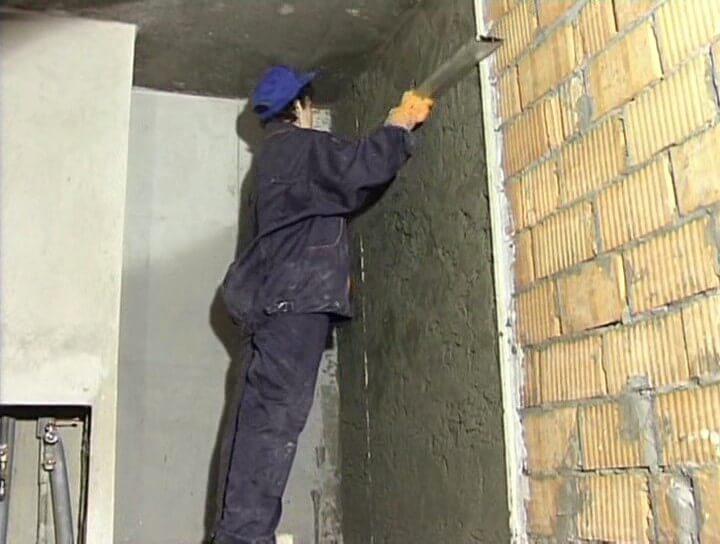 Штукатурка стен (свыше 30 мм за слой 10 мм), цена работы
