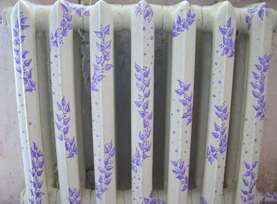 Окраска радиаторов отопления цена