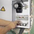 Установка УЗО цена электрика