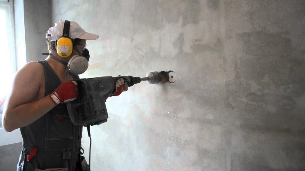 Заказать штробление для подрозетника под ключ, цена работ мастера в Беларуси