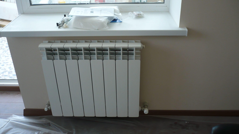 Установка радиатора отопления без переварки цена в минске