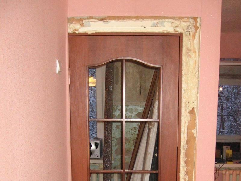 Цена установки двери