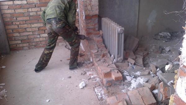 Демонтаж стен заказать