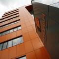 Фасад из композитных панелей, цена облицовки