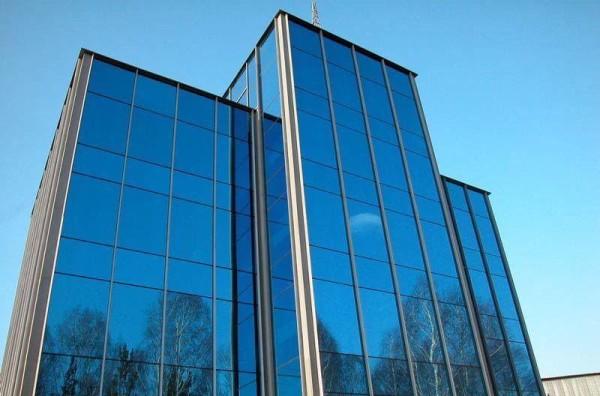Фасады из стекла, цена отделки дома