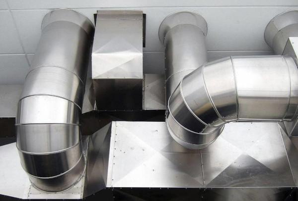 Воздуховоды и фасонные части воздуховодов цена монтажа