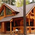 Проектирование домов из оцилиндрованного бревна заказать в Минске